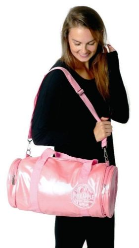PINEAPPLE DANCEWEAR Studio Dancer Barrel Bag Holdall Gym Dance Gymastics Pink